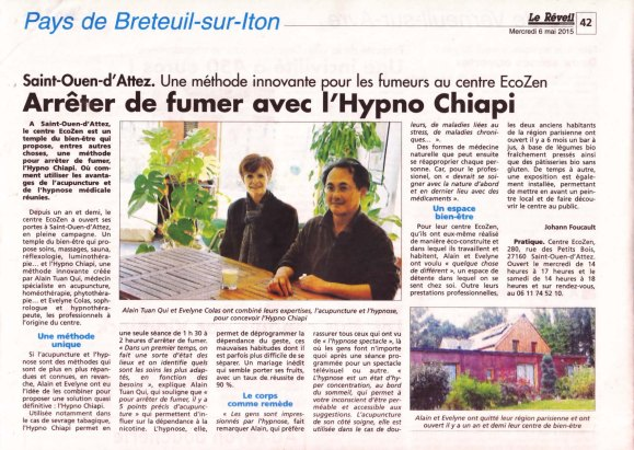 article hypno chiapi réveil normand